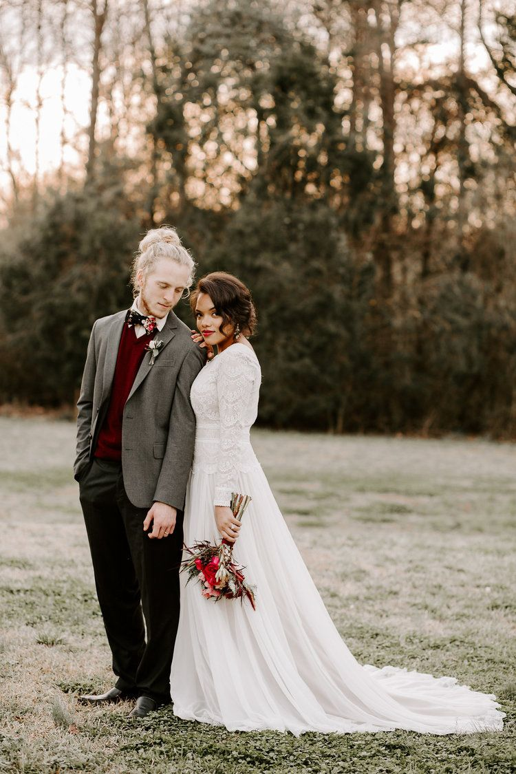 Valentines Day Elopement Styled Shoot Elopement Styling Wedding Dress Blog Styled Shoot