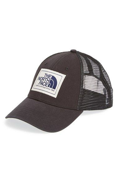 The North Face Men s  Mudder  Trucker Hat - Black  2248f118afc