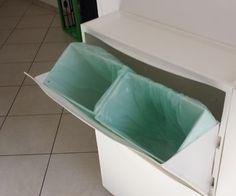 Garbage Bin With the Ikea Shoe Rack Trones