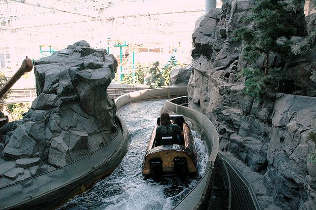 Log Flume Ride At Mall Of America Mall Of America Amusement Park Rides Riding