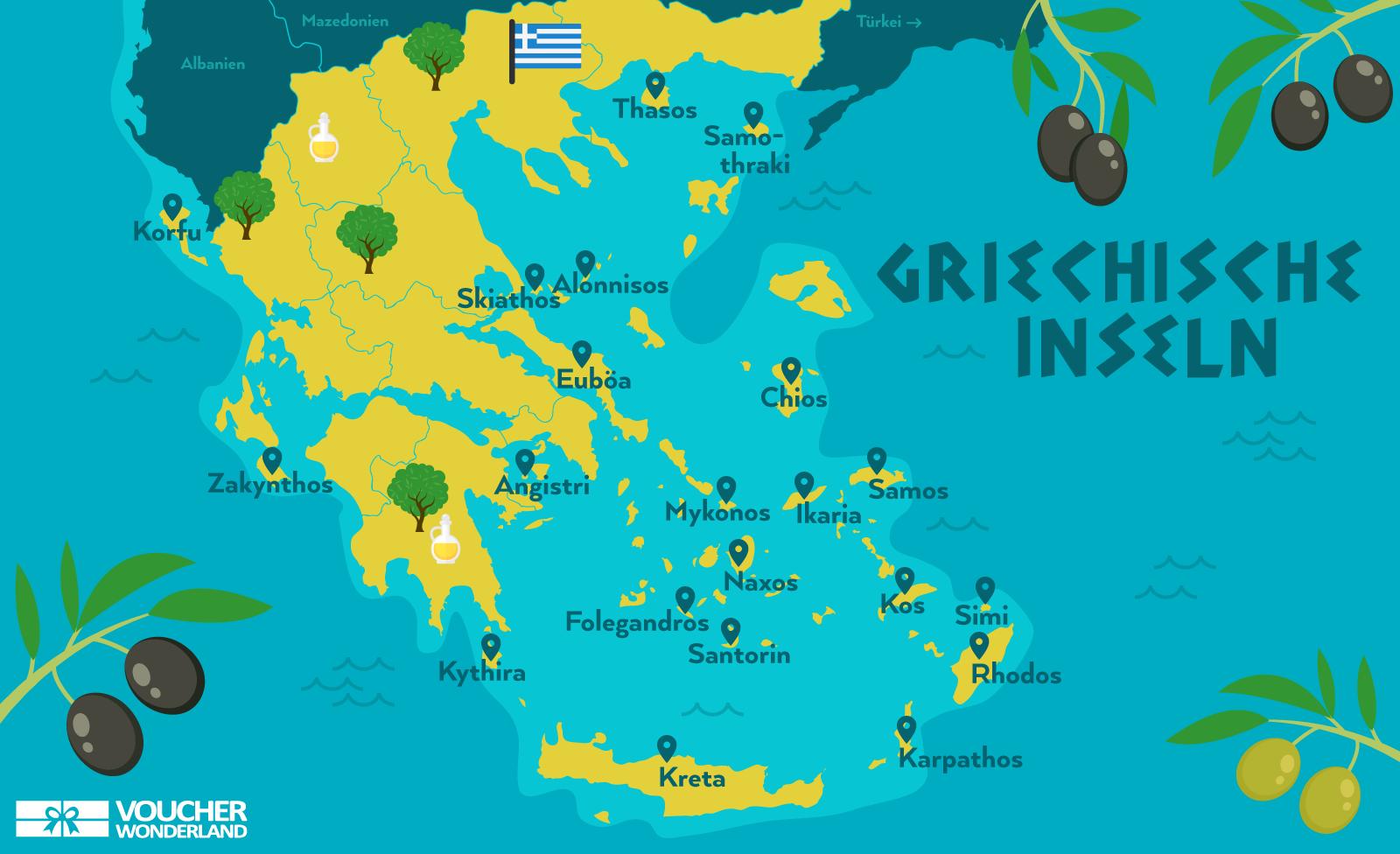 Die 11 schönsten Griechischen Inseln im Überblick 2019