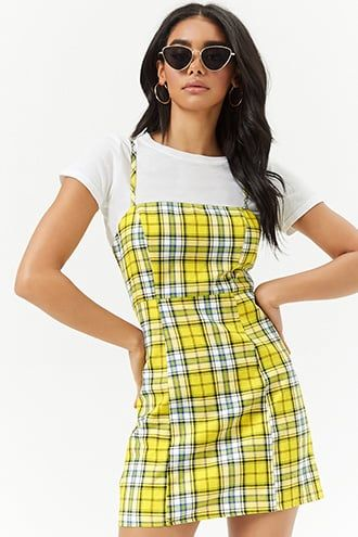 5f0f0d44023 Plaid Fit   Flare Dress