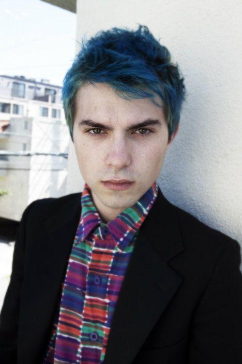 Dark Blue Hair Man Www Pixshark Com Images Galleries