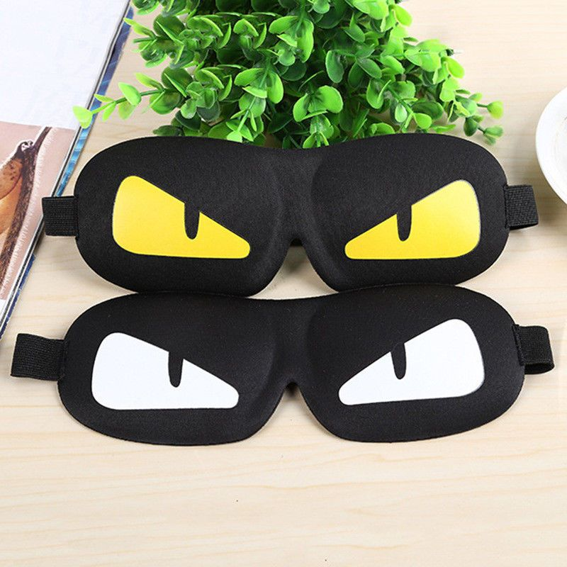 3D Travel Eye Mask Shade Cover Rest Sleep Eyepatch Blindfold Shield Aid Sleeping
