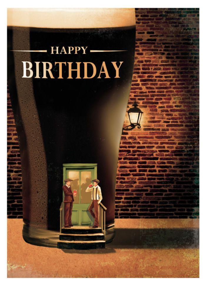 Martin Irish BEER 1 Verjaardag, Verjaardag kaarten