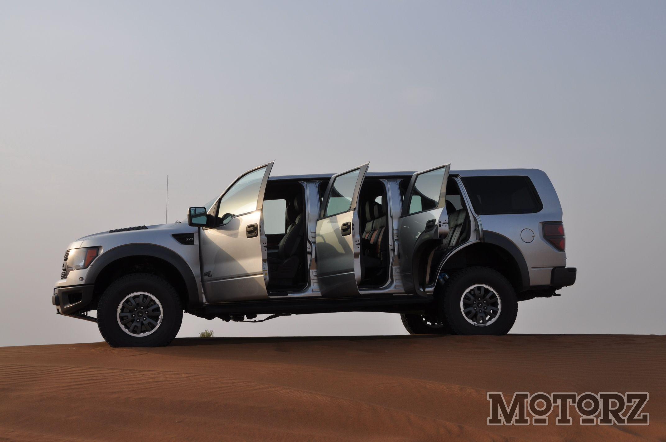Ford ford raptor suv