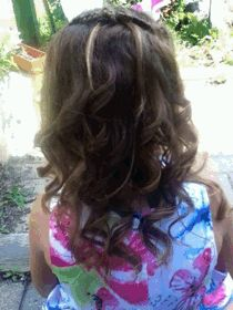 Loose curly hair ❤