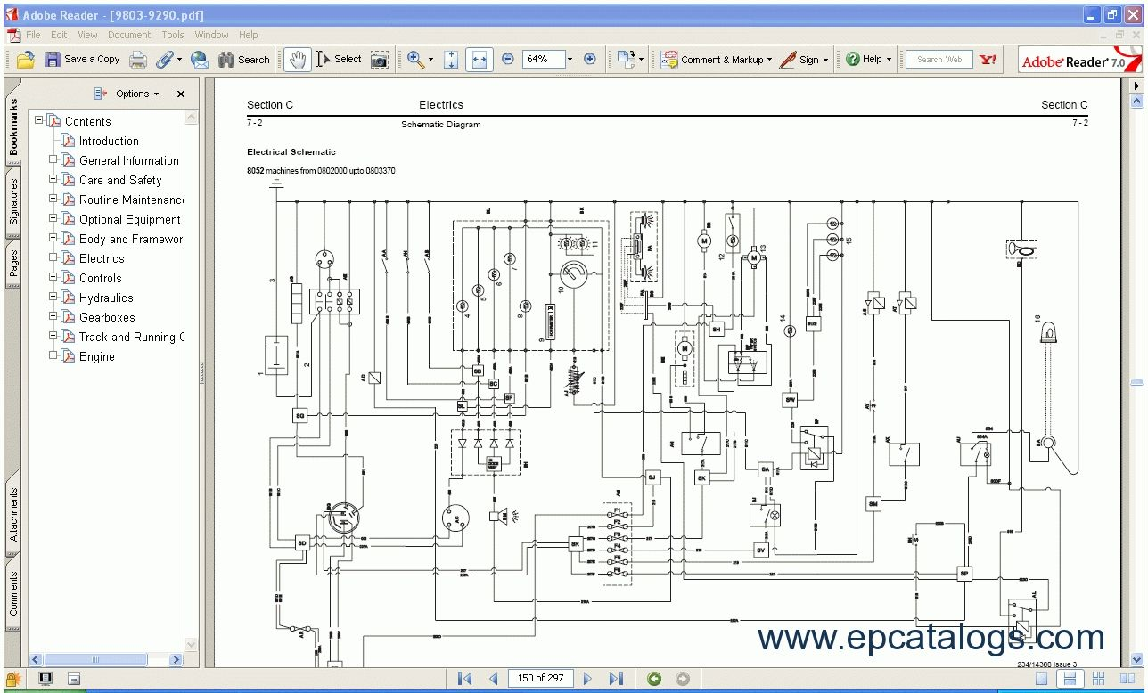 jcb 3dx electrical wiring diagram wiringdiagram org [ 1288 x 778 Pixel ]