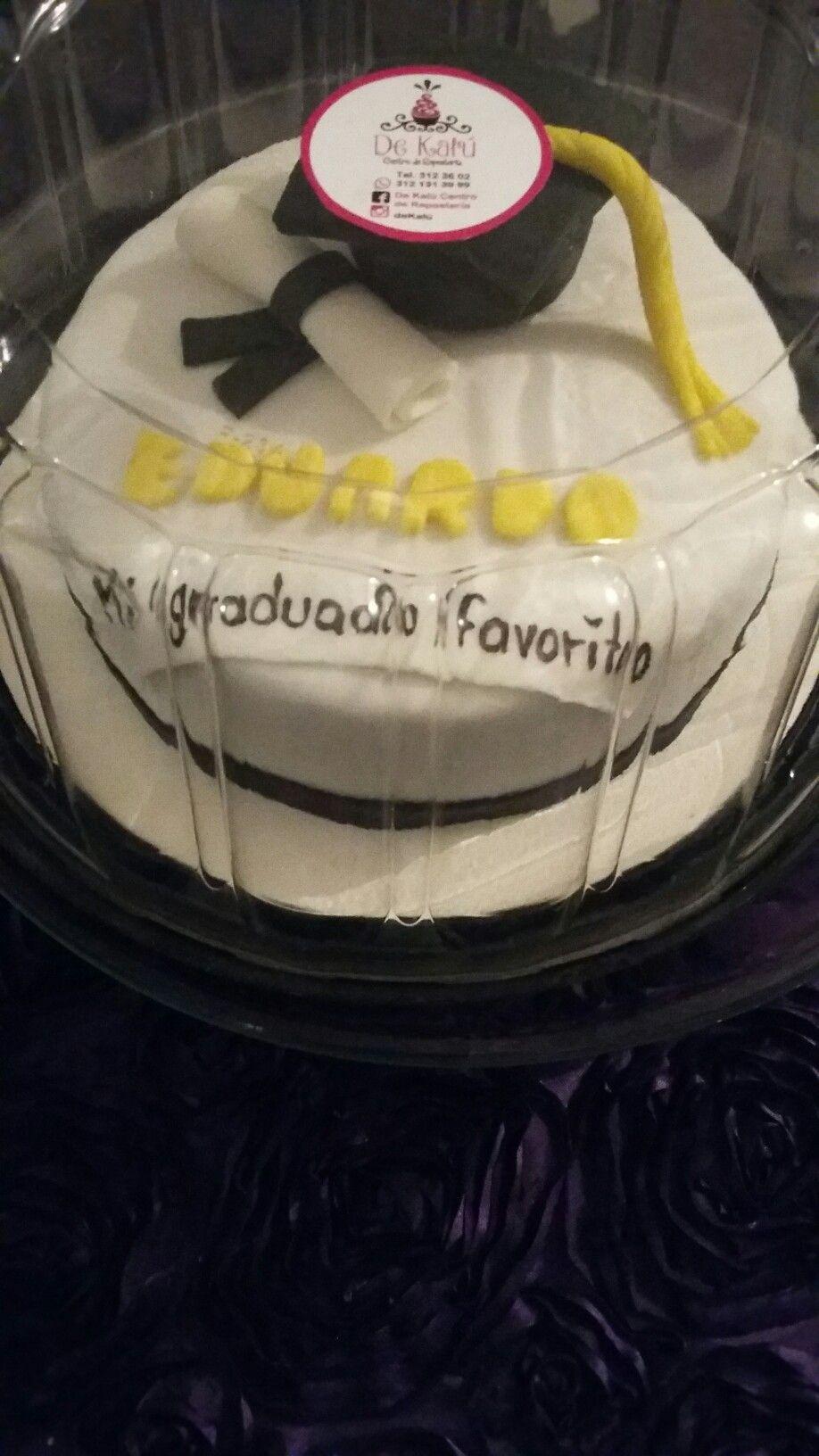 Fondant. ..pastel de graduación
