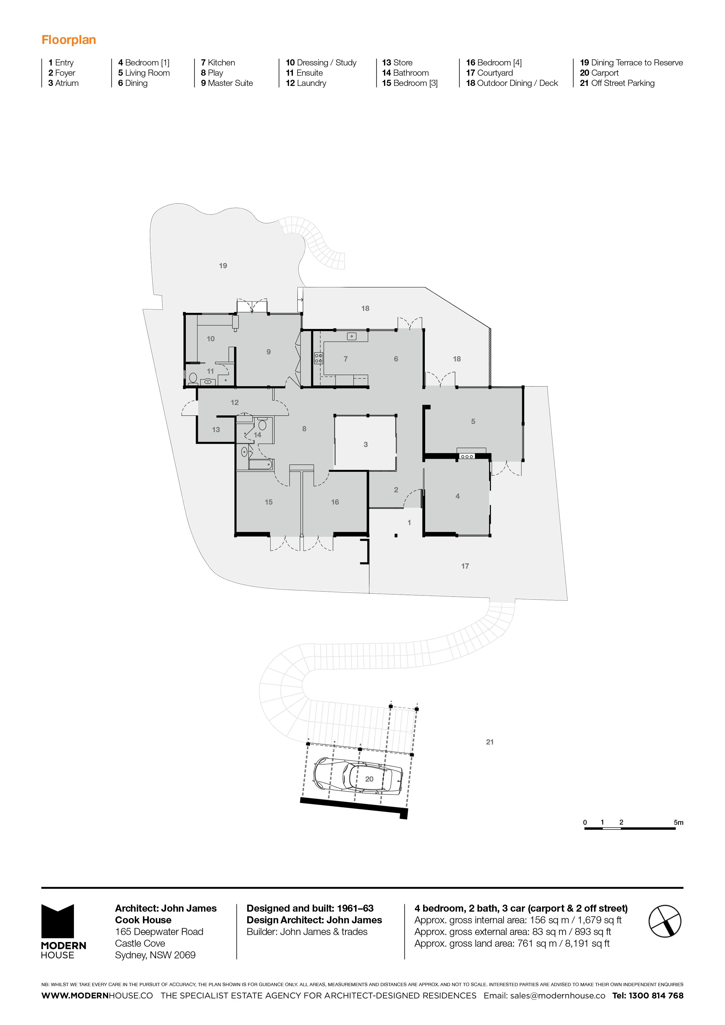 Architectdesigned Modern house for sale in Castle Cove Sydney