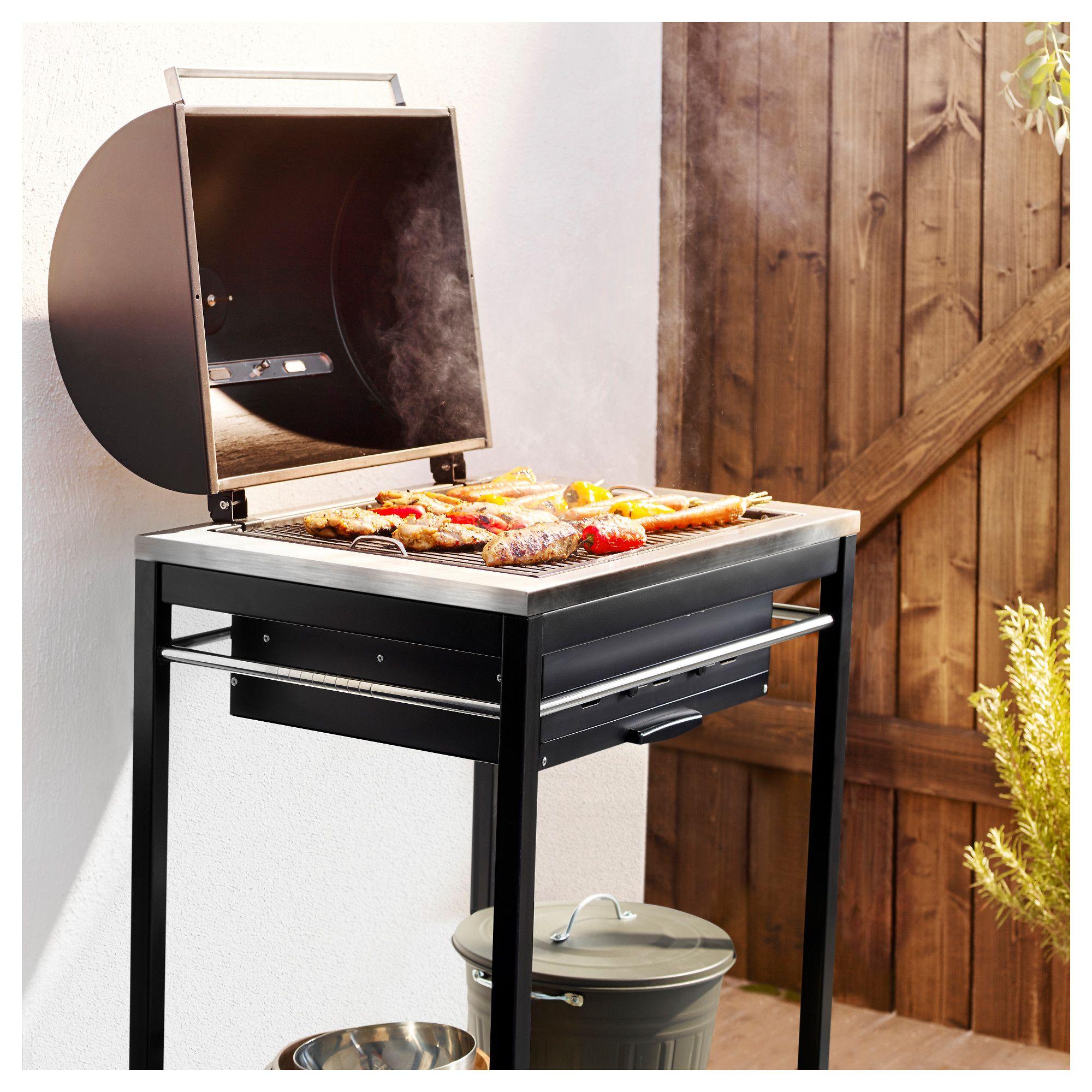 Klasen Charcoal Grill Ikea Ananda Exterior Pinterest  # Muebles Rivelli