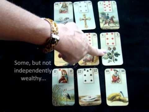 How to Do a 9-Card Lenormand Spread - YouTube   Tarot