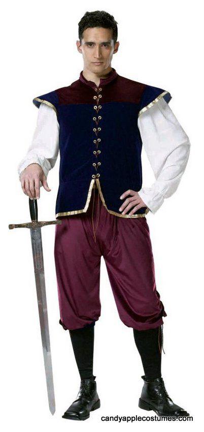 bb0894605b030 Deluxe Adult Renaissance Noble Costume - Renaissance Costumes - Candy Apple  Costumes