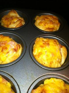 Cooking with Cayla!: Ham and Cheese Cups