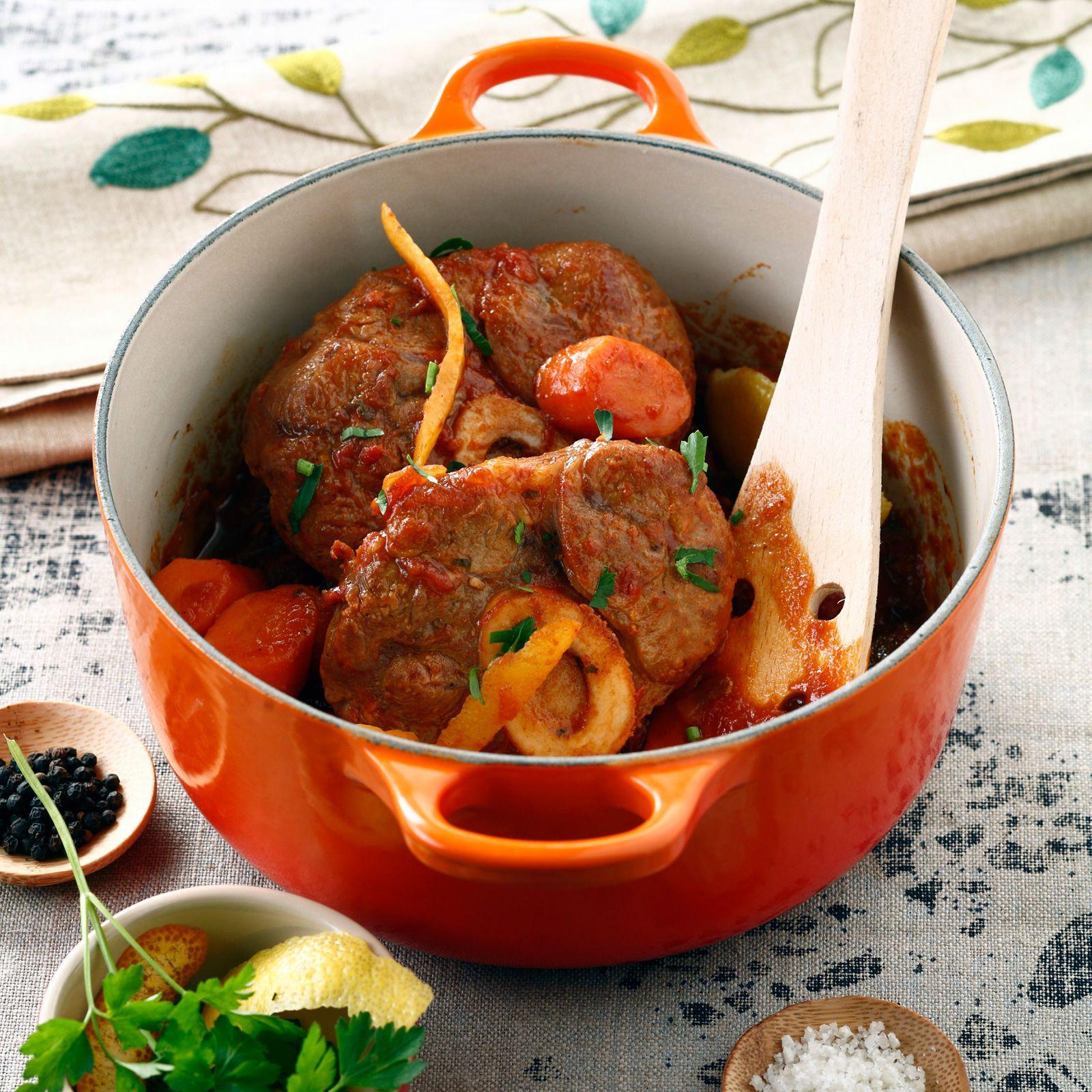 Osso bucco de veau recette veaux viande et plat - Recette osso bucco veau ...