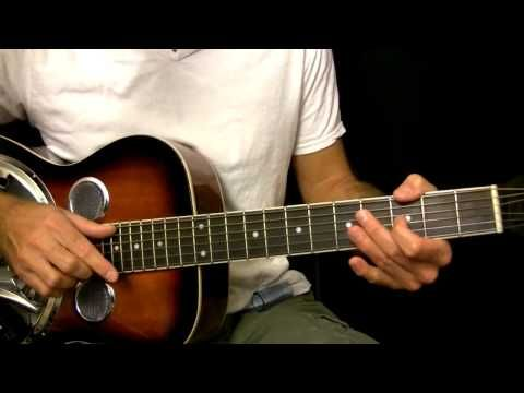Easy Dobro Guitar Lesson in Open G Tuning - YouTube | Twang Town ...