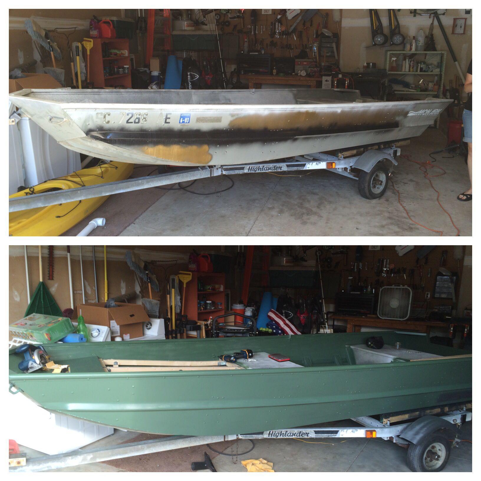 Jon boat conversion to bass boat fishing pinterest for Jon boat bass fishing