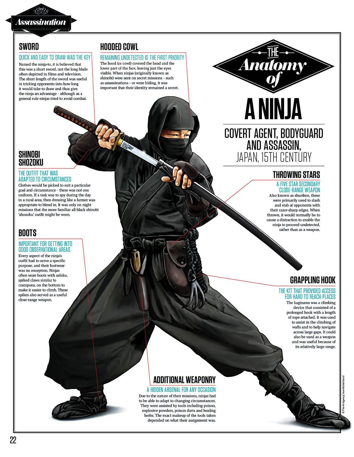 The Bestiarium: Ninjas