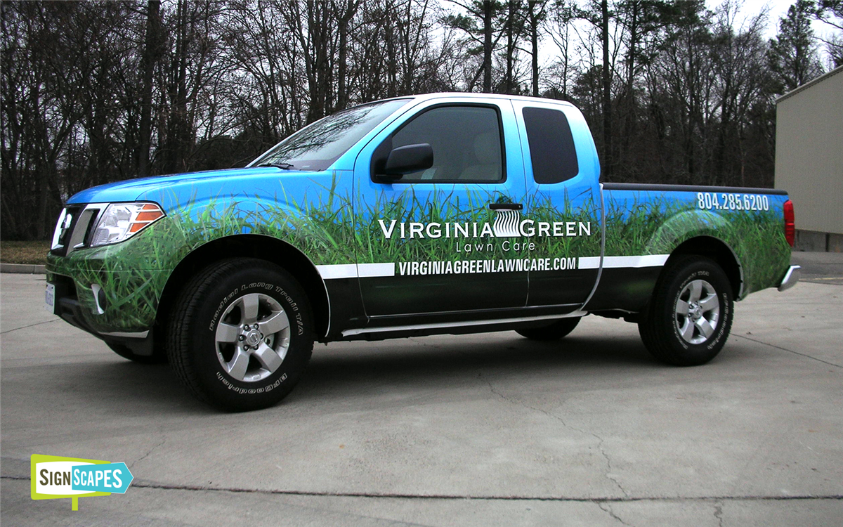 Signscapes Richmond Va Car Van Truck Boat Vehicle Wraps Graphics Decals Signs Car Wrap Vehicles Lifted Ford Trucks