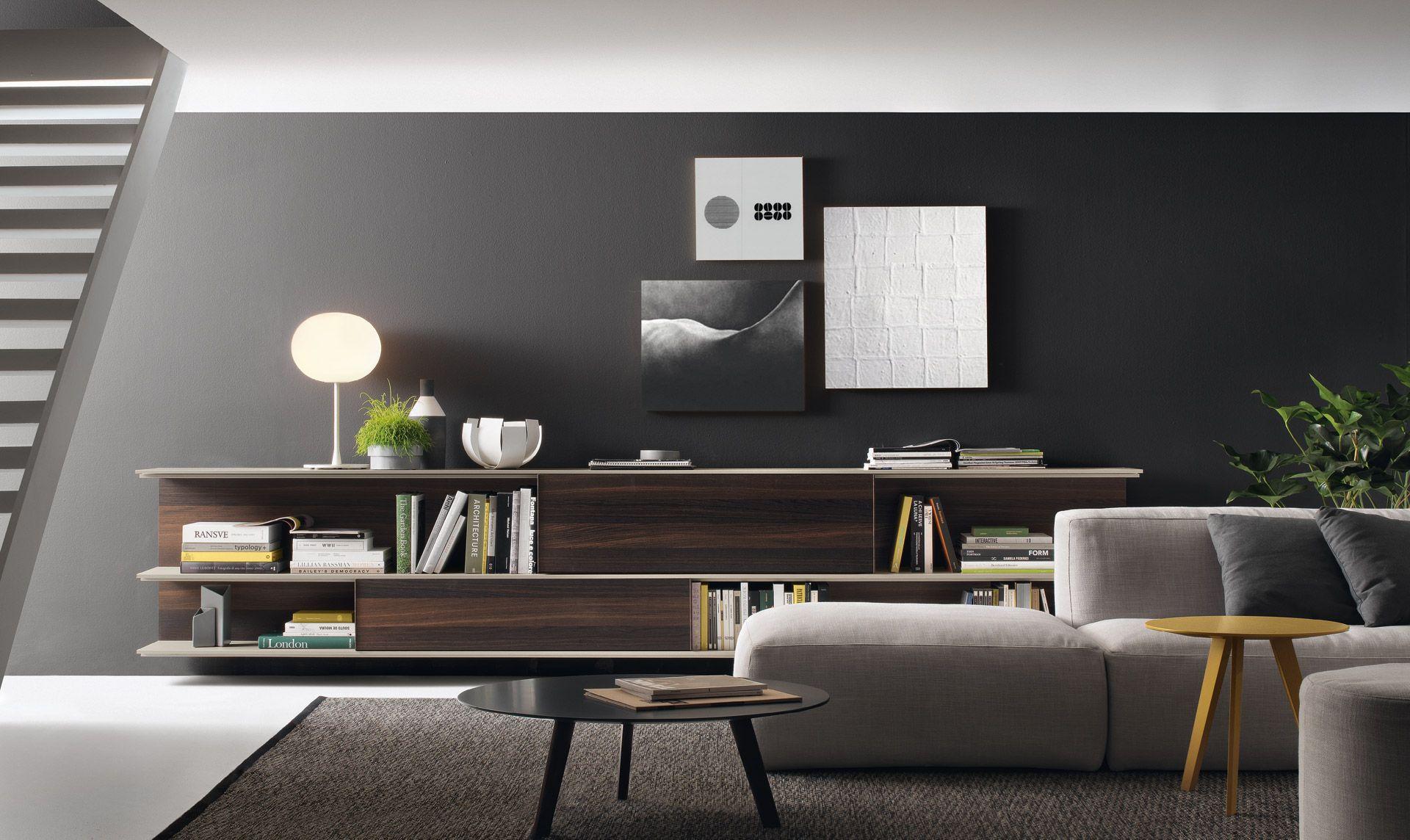 jesse - mobili arredamento design - wall units - online wall unit ... - Arredamento Design Living