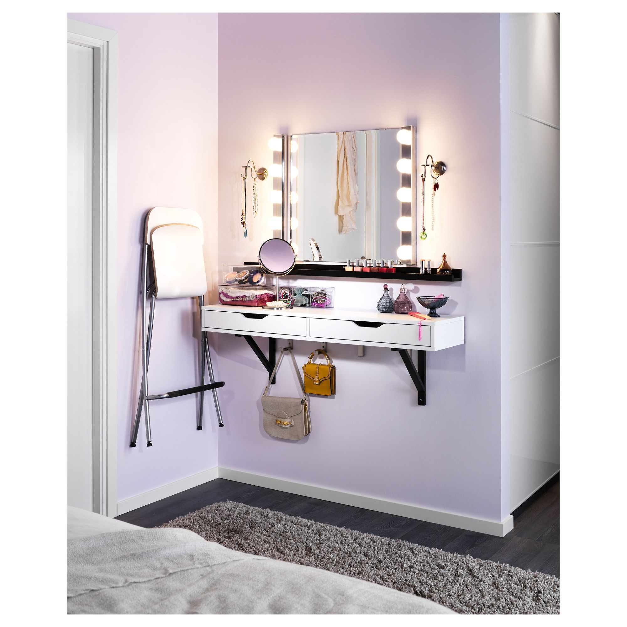 Dressing table mirrors ikea - Steel