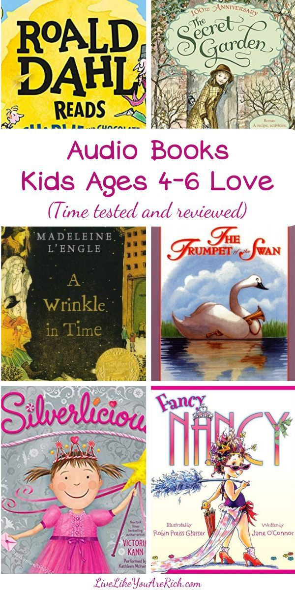 Audiobooks Kids Ages 46 Love (With images) Audio books