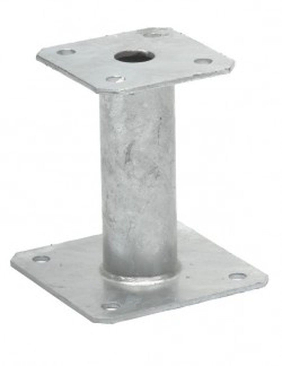 Simpson Strong Tie Elevated Post Base Ppa100 In 2020 Stainless Steel Fasteners Wood Laminate Galvanized Steel