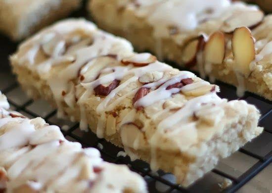 Scandinavian Almond Bars Recipe Dessert Recipes Almond Bars Food Recipes