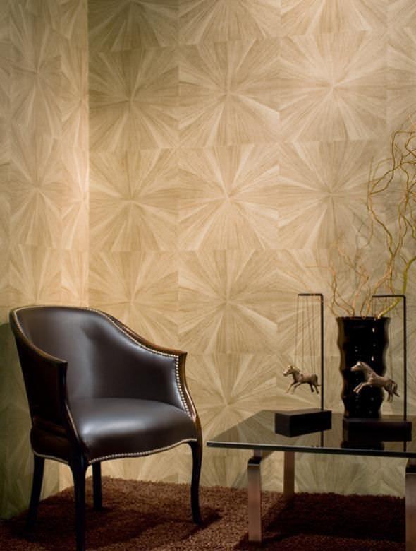 Vinyl Wallcovering Sunburst Ii Maya Romanoff Wall Coverings Contemporary Wallpaper Brick Patterns Patio