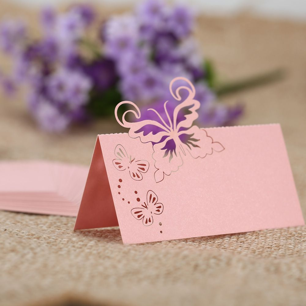 Butterfly Pattern Seat Cards //Price: $14.95 & FREE Shipping ...