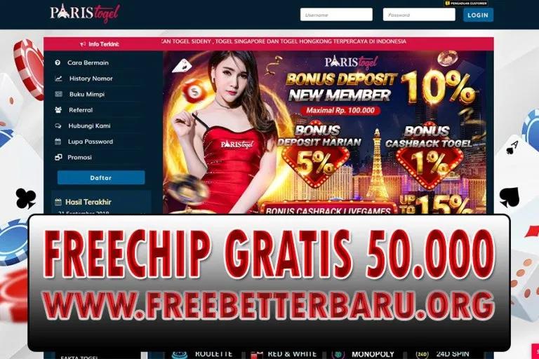 Freebet Tanpa Deposit Paristogel Senilai 50 000 Freebet Terbaru Freechip Terbaru Chip Gratis Terupdate Senilai Buku Pengetahuan