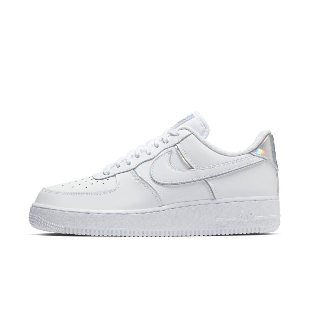 super popular 4f000 ed5a9 Nike Air Force 1  07 LV8 4 Men s Shoe Size 7.5 (White)