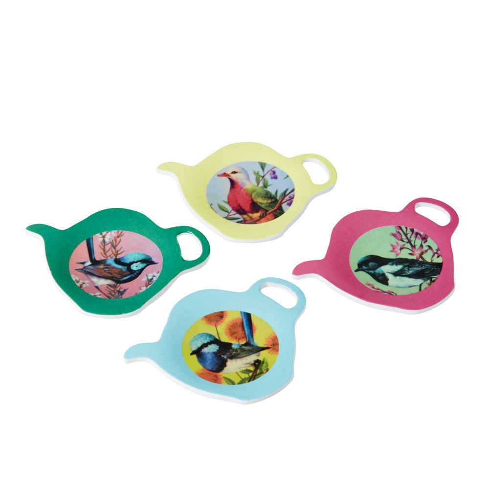 Rice DK Tea Bag Plate in 4 Assorted Prints. :: BellaKoola – BellaKoola - Cool Design Gift & Lifestyle Shop