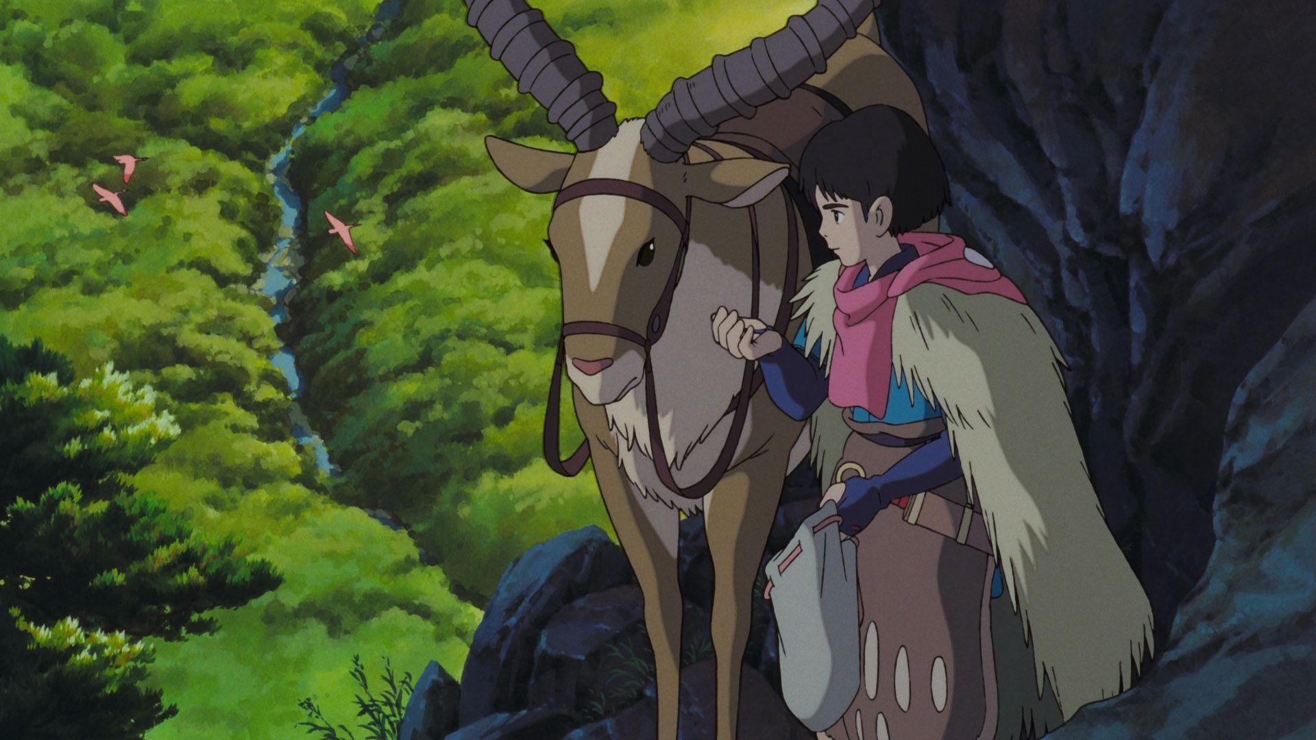 Ashitaka Princess Mononoke Wallpaper 48 実写 アニメ スタジオジブリ もののけ姫