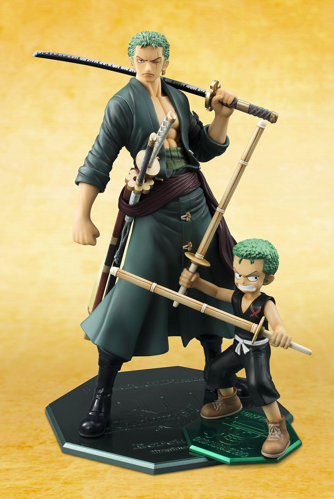 Anime One Piece Jouets Roronoa Zoro Collectible Figures Figurines Statues 13cm