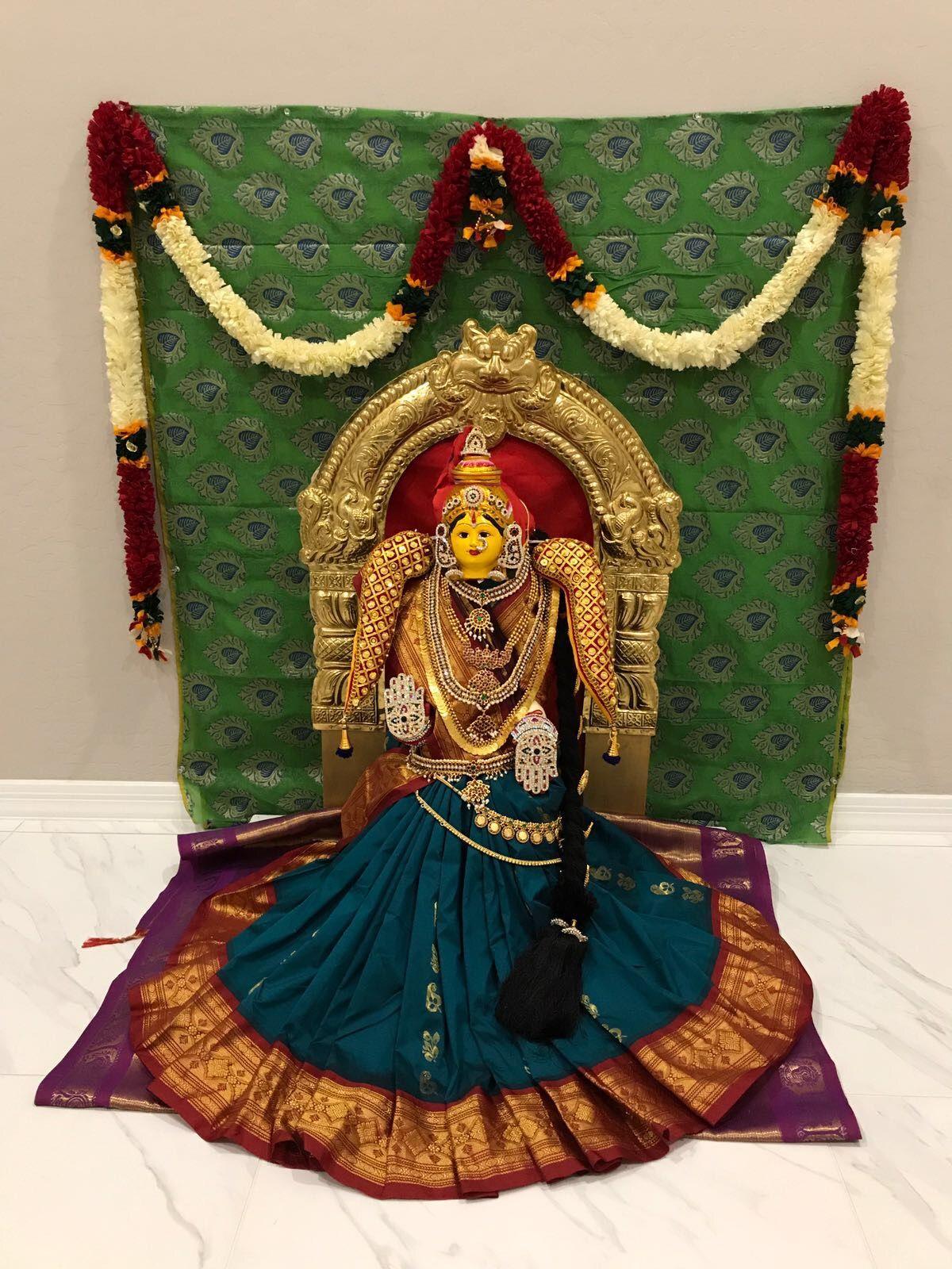 Varalakshmi ammavaru decoration, vara, lakshmi vratham ...