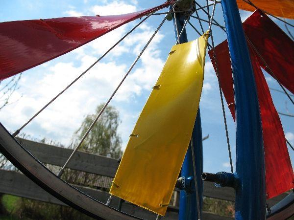 Beautiful  windrad fertig