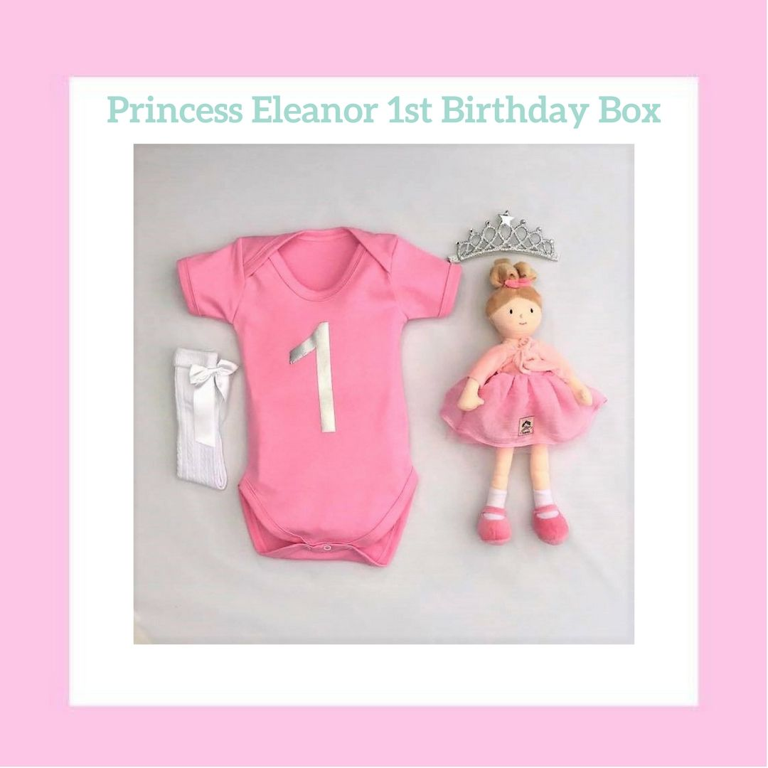 First birthday gift set for girls (With images) 1st