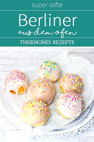 Ofen-Berliner - Super Soft und fluffig. Thermomix TM5 Rezepte. #pumpkinmuffins