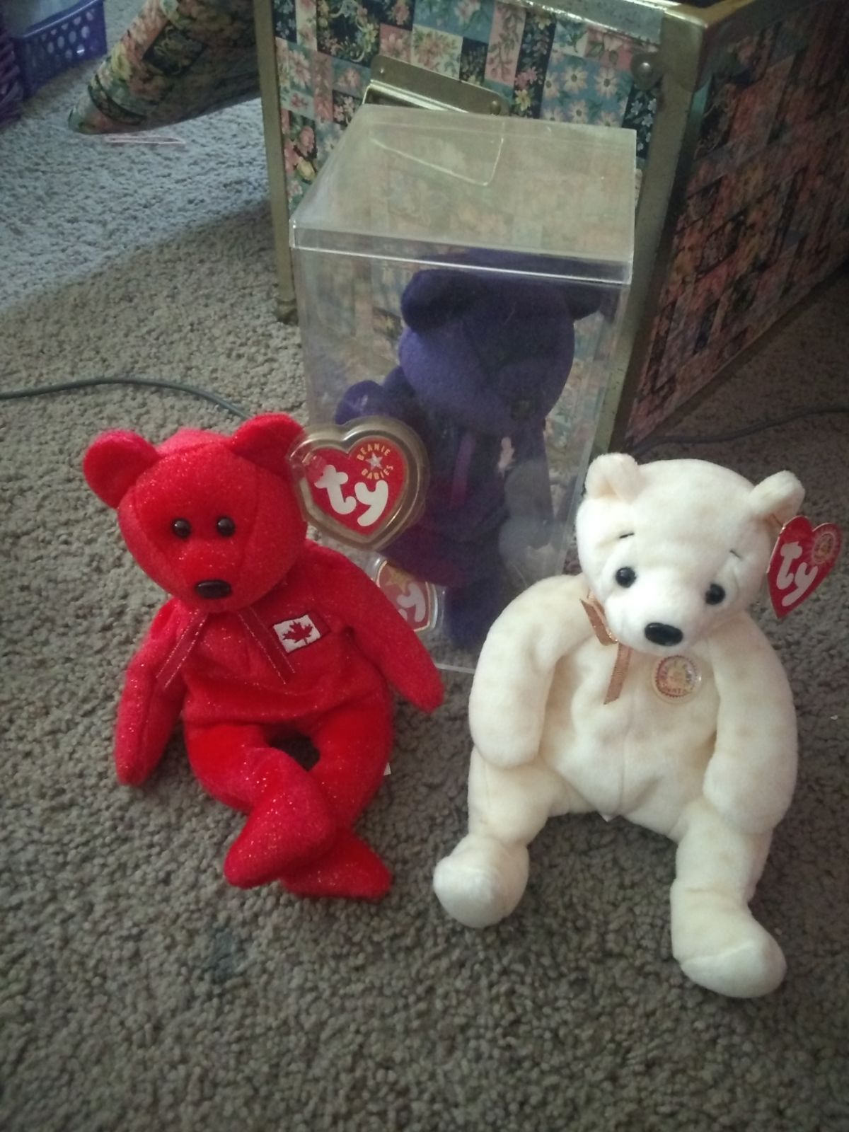 Ty Beanie Baby Alive Princess Diana Bear Tag Is No Longer Attached