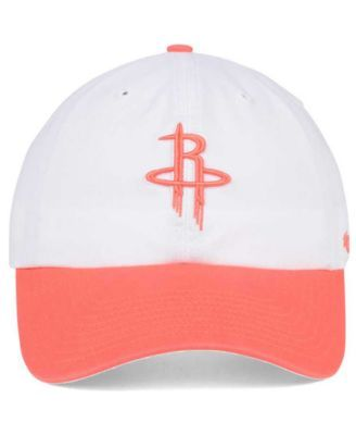 quality design 3a792 fbe38 47 Brand Houston Rockets Pastel Rush Clean Up Cap - White ...