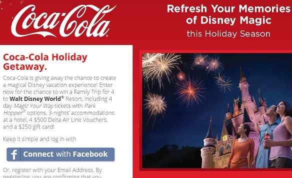 Win disney vacation sweepstakes