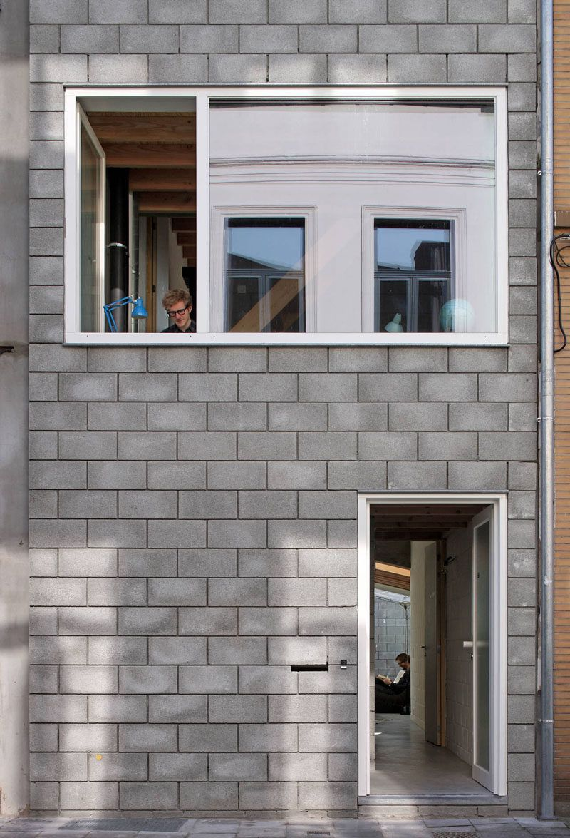 We Explain The Different Styles Of Concrete Blocks Cinder Block House Concrete Blocks House Design