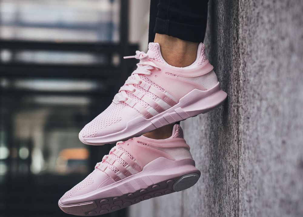the best attitude 68c1a 6cc32 acheter chaussure Adidas Equipment Support ADV 91-16 W Clear Pink (rose)  femme