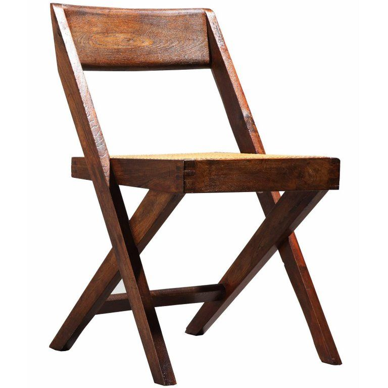 Enjoyable Pierre Jeanneret Chair Library Circa 1959 1960 Indian Mid Pdpeps Interior Chair Design Pdpepsorg