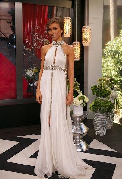 60bdbc036b ADORE this dress! --  Giuliana Rancic in Jean Fares during E! s Pre Oscars  Show.
