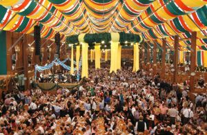 Oktoberfest Munich Beer Tents