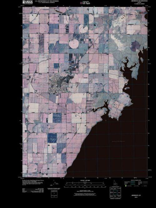 USGS TOPO Map Rebuild Prints for Idaho:...   Things The Vac ...