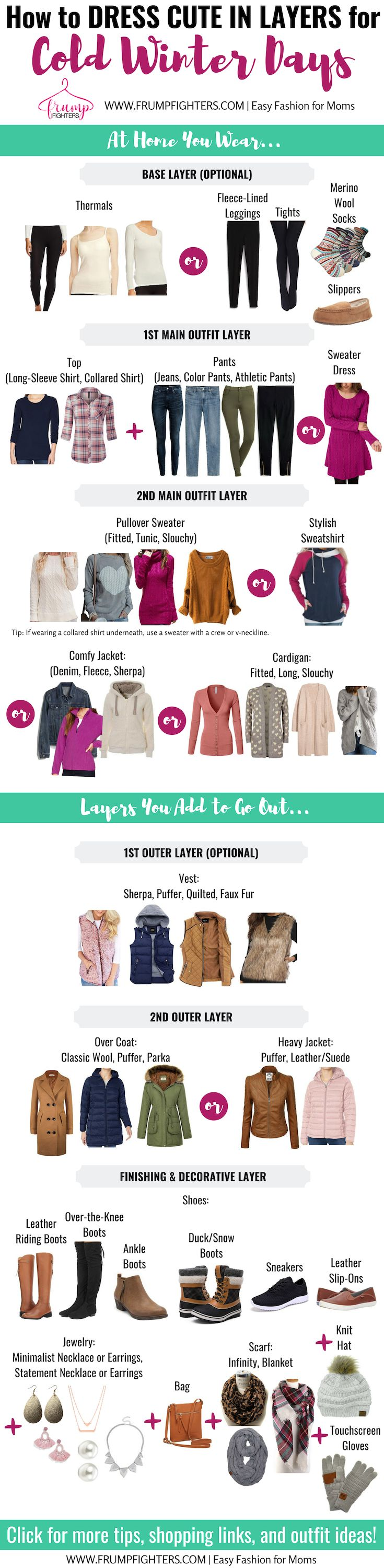 How to Dress Warm & Cute in Winter (Essentials List, Layering Tips, & Outfit Ideas