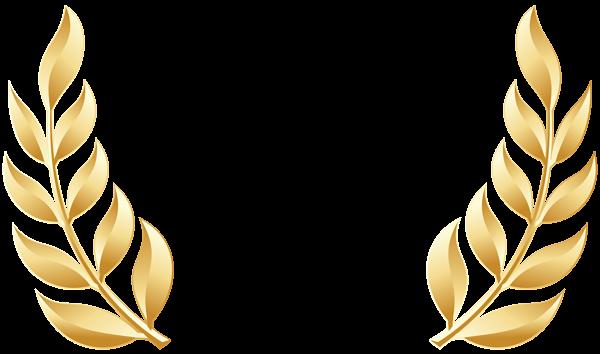 This Png Image Golden Laurel Leaves Transparent Image Is Available For Free Download Quadro De Flores Coroa De Louros Brasao Png